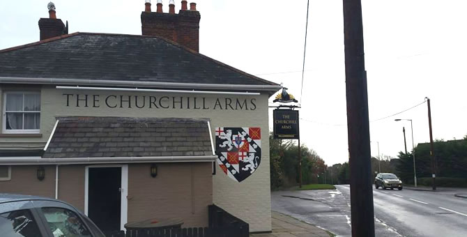 The Churchill Arms, Alderholt - Exterior